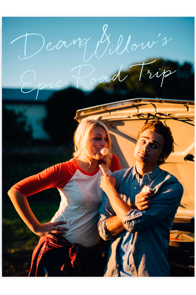 Dean & Willow's Epic Road Trip Poster